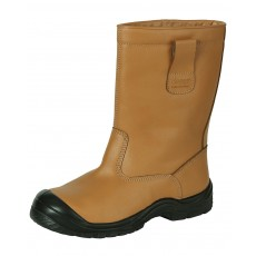 Hoggs of Fife Men's Classic R1 Safety Boots (Golden Tan)