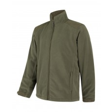 Hoggs of Fife Men's Countryman Light-weight Fleece Jacket (Olive Green)