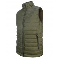 Hoggs of Fife Men's Craigmore  Interactive Quilted Gilet (Dark Khaki)