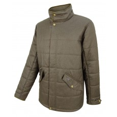 Hoggs of Fife Men's Elgin Quilted Jacket (Green)