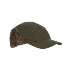 Hoggs of Fife Men's Glenmore Waterproof Hunting Cap (Dark Olive)