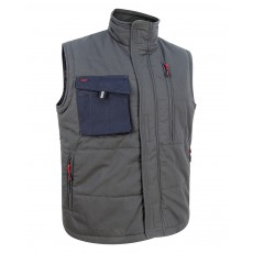 Hoggs of Fife Men's Granite Active Ripstop Gilet (Charcoal/Black)