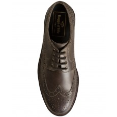 Hoggs of Fife Men's Inverurie Country Shoes (Waxy Brown)