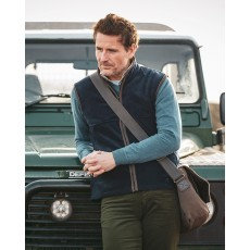 Hoggs of Fife Men's Stenton Technical Fleece Gilet (Midnight Navy)