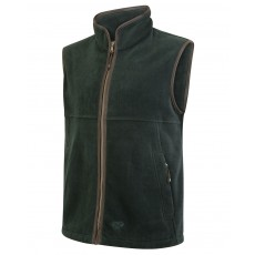 Hoggs of Fife Men's Stenton Technical Fleece Gilet (Pine)