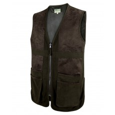 Hoggs of Fife Men's Struther Shooting Vest (Dark Green)