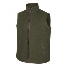 Hoggs of Fife Men's Woodhall Fleece Gilet (Green)