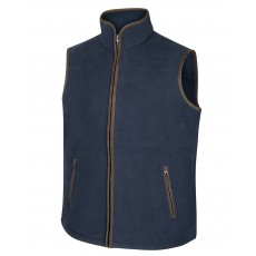 Hoggs of Fife Men's Woodhall Fleece Gilet (Navy)
