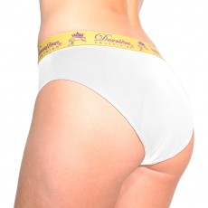 Derriere Equestrian Women's Performance Padded Panty (White)