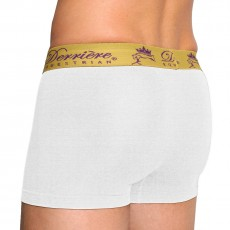 Derriere Equestrian Men's Performance Shorty (White)