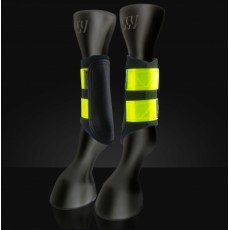 Woof Wear Club Brushing Boot (Yellow Reflective)