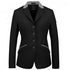 Cavallo Ladies Estoril mA Show Jacket (Black/Light Grey)
