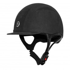 Gatehouse Challenger Suede Riding Hat (Black)