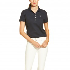 Ariat Women's Prix Polo (Navy Eclipse)
