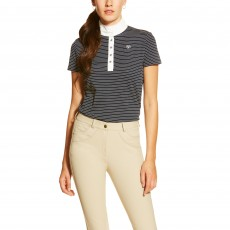 Ariat Women's Fashion Aptos Show Top (Navy Stripe)