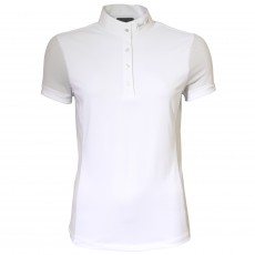 Mark Todd Women's Amber Competition Polo Shirt (White)