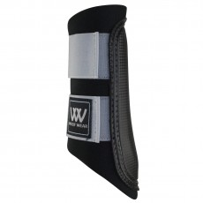 Woof Wear Club Brushing Boots (Black/Steel)