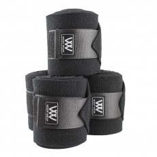 Woof Wear Polo Bandages Set of 4 (Black)