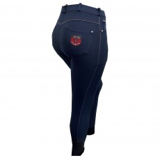 Mark Todd Women's Venus Grip Breeches (Navy/White)