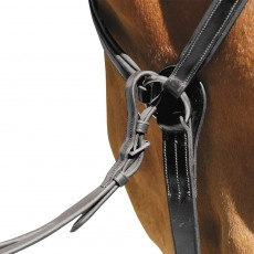 Mark Todd Padded Breastplate (Black)