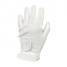 Mark Todd Adults Super Riding Gloves (White)