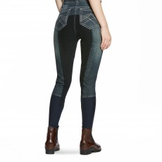 Ariat Women's Whipstitch Full Seat Breeches (Indigo)