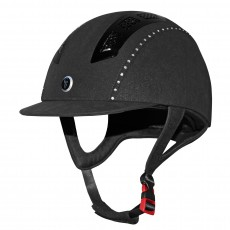 Gatehouse Chelsea Air Flow Pro Riding Hat Crystal (Suedette Black)