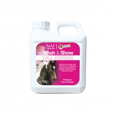 NAF Wash & Show (All Horses)