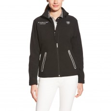 Ariat Women's FEI World Cup Team Softshell Jacket (Black)