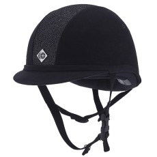 Charles Owen YR8 Sparkly Riding Hat (Navy)