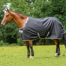 Bucas Smartex Turnout Rain Rug Black