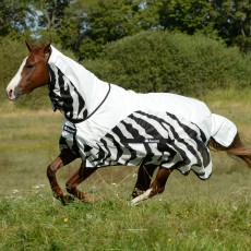 Bucas Buzz-Off Zebra Rain Fly Rug