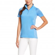 Ariat Women's Cambria Quarter Zip Top (Dutch Blue)