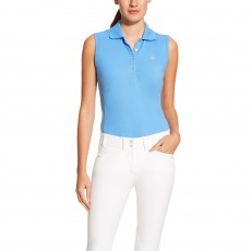 Ariat Women's Prix Sleeveless Polo (Dutch Blue)
