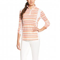 Ariat Women's Sunstopper Quarter Zip (Brushstroke Stripe)