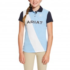 Ariat (Sample) Girl's Taryn Polo (Skyway)