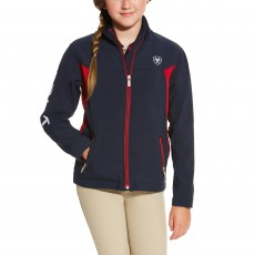 Ariat Kid's New Team Softshell Jacket (Navy)