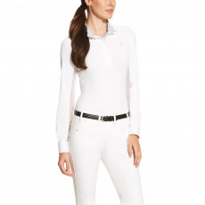 Ariat (Sample) Women's Marquis Show Top (White Claude)