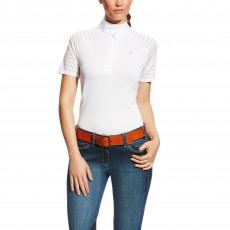 Ariat Women's Aptos Vent Show Shirt (White)