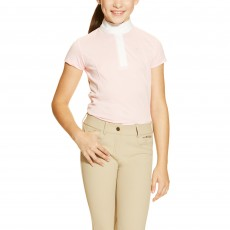 Ariat (Sample) Girl's Aptos Show Shirt (Blossom)