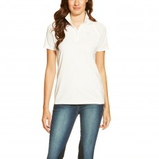 Ariat Women's Cambria Quarter Zip Top (White)