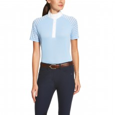 Ariat Women's Aptos Vent Tek Show Shirt (Skyway)