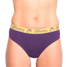 Derriere Equestrian Women's Performance Padded Panty (Purple)