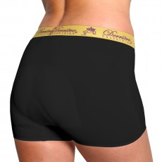 Derriere Equestrian Women's Performance Padded Shorty (Black)