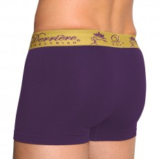 Derriere Equestrian Men's Performance Shorty (Purple)
