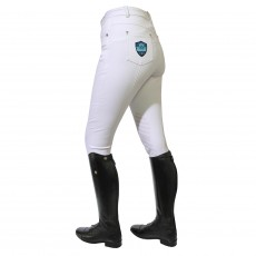 Mark Todd Women's Venus Grip Breeches (White)