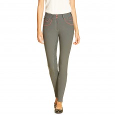 Ariat Women's Olympia Acclaim Full Seat Breeches (Granite/Flame)