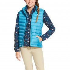 Ariat (Sample) Girl's Ideal Down Vest (Navy)