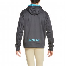 Ariat Men's Tek Fleece Hoodie 2.0 (Ebony)