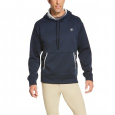 Ariat Men's Tek Fleece Hoodie 2.0 (True Navy)